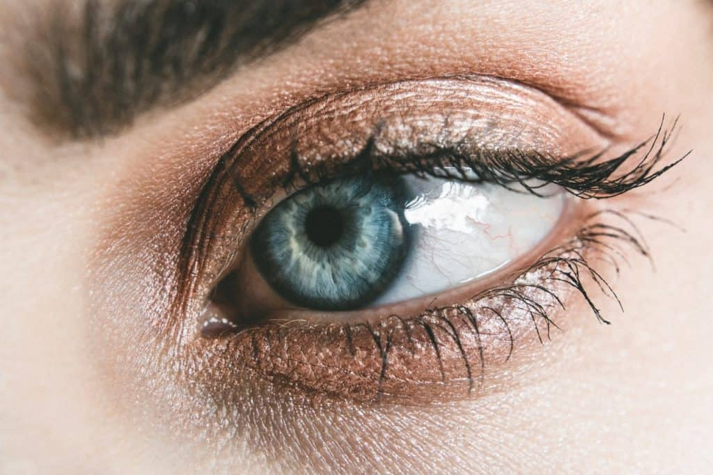 Why do we get dry under eyes?